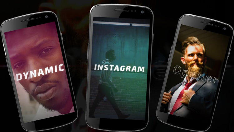 Free Dynamic Instagram Opener: After Effects Templates