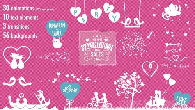 Valentine Kit: After Effects Templates