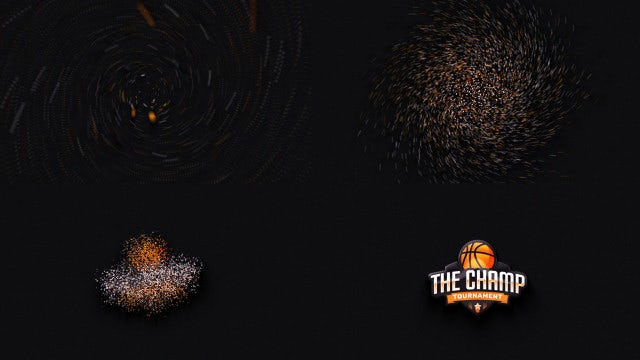 Particle Glossy Logo Reveal: After Effects Templates