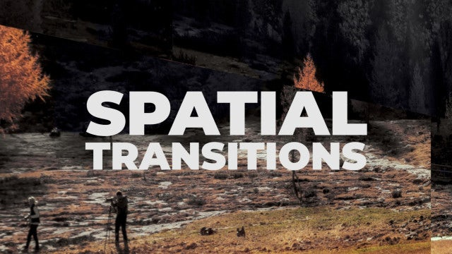 Spatial Transitions: Premiere Pro Presets