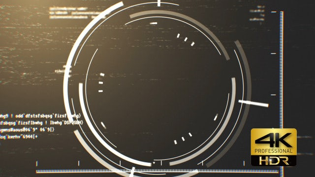 Radar Display 4K Background: Stock Motion Graphics
