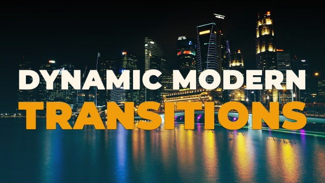 Dynamic Modern Transitions: Premiere Pro Presets
