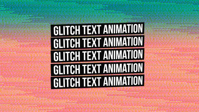 Glitch Titles & Opener: Premiere Pro Templates