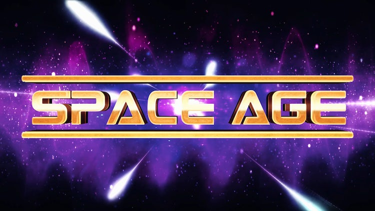 Space Age Title/Logo Reveal: After Effects Templates