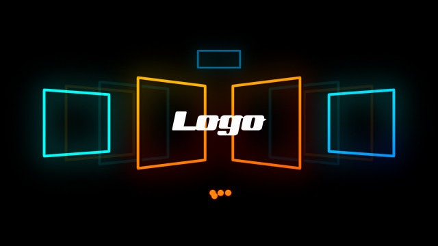 Neon Light Logo: After Effects Templates