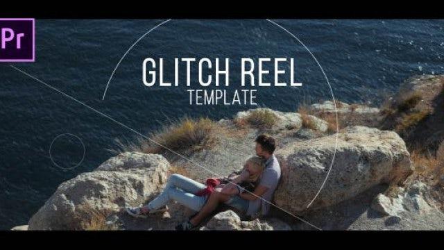 Glitch Reel: Premiere Pro Templates