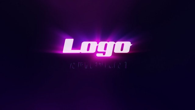 Stroke Light Logo Reveal: After Effects Templates
