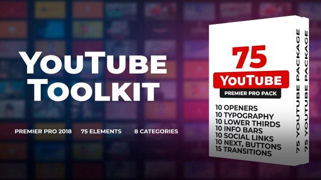 70 YouTube Toolkit: Premiere Pro Templates