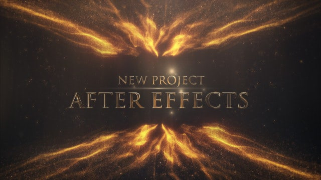 Gold/Silver Awards Titles: After Effects Templates