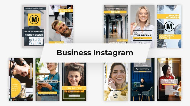 Business Instagram: After Effects Templates