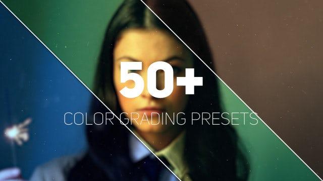 Color Grading Filters: Premiere Pro Presets
