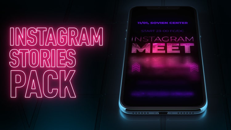 Instagram Stories Event Pack: After Effects Templates