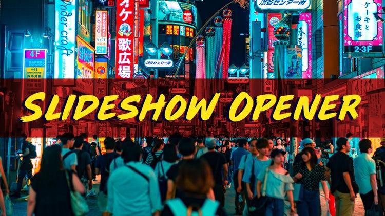 Modern Slideshow Opener: Premiere Pro Templates