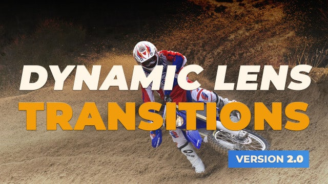Dynamic Lens Transitions V2.0: Premiere Pro Presets