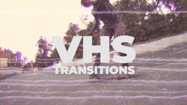 Fast VHS Transitions: Premiere Pro Templates