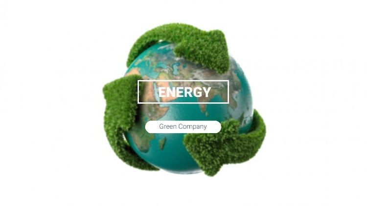 Green Energy: After Effects Templates