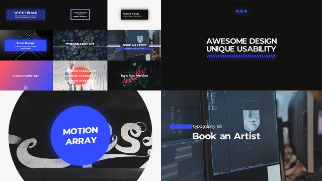 Big Typography: Premiere Pro Templates