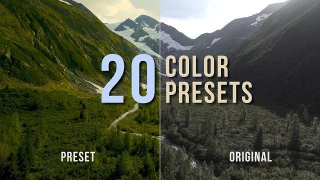 Color Presets Pack: Premiere Pro Presets