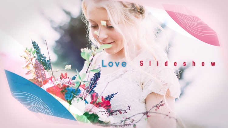 Slideshow Love: After Effects Templates