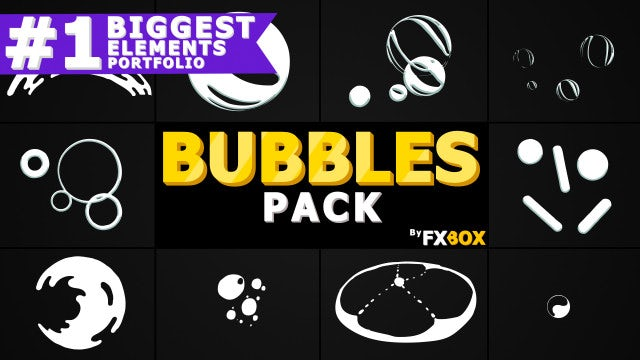 Bubble Elements: After Effects Templates