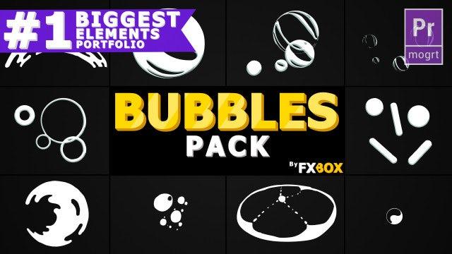 Bubble Elements: Motion Graphics Templates