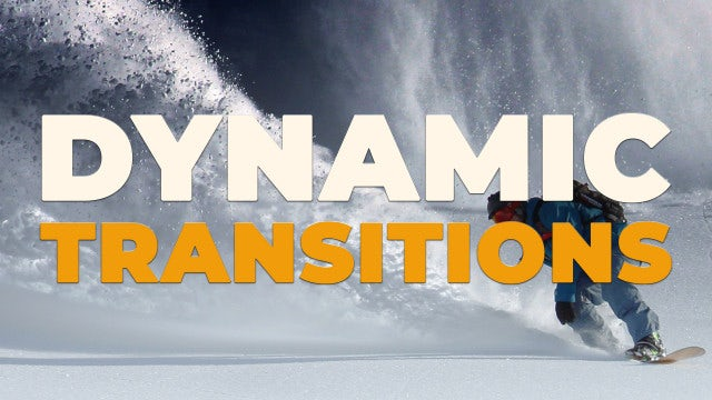 Dynamic Transitions: Premiere Pro Presets
