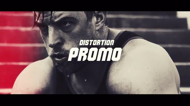 Distortion Opener: After Effects Templates