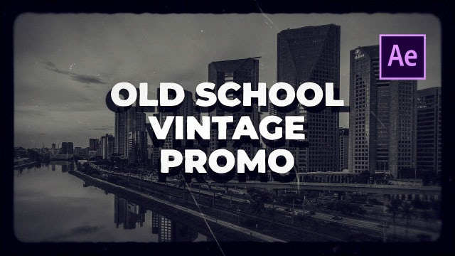 Old School Vintage Film: After Effects Templates