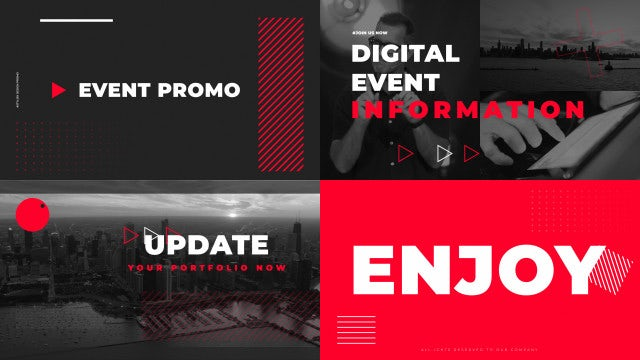 Stylish Event Promo: After Effects Templates
