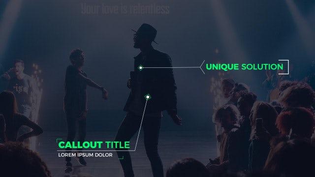 Modern Callout Titles: Premiere Pro Templates