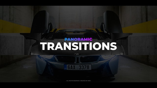 Panoramic Transitions: Premiere Pro Presets