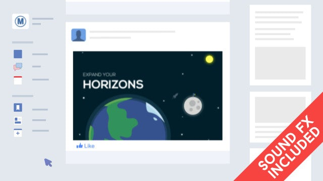 Facebook & Twitter Promotion: After Effects Templates