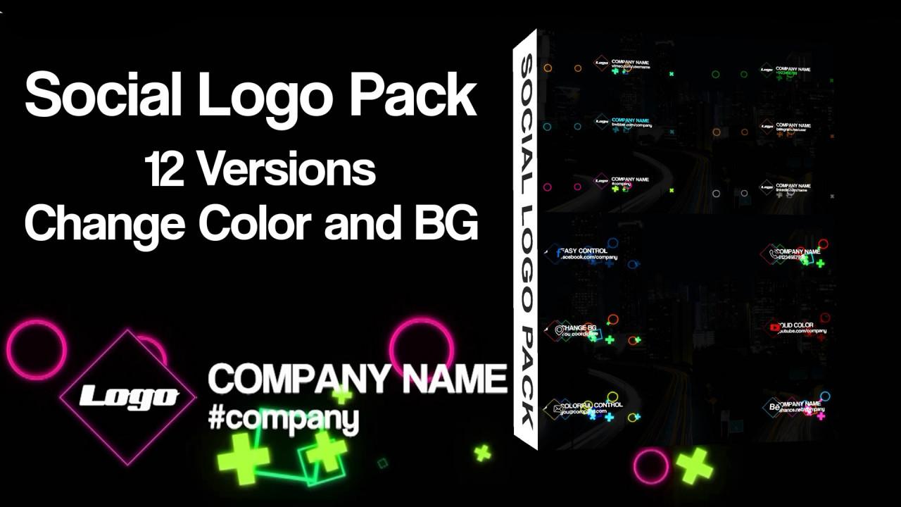 Social Logo Pack 168370