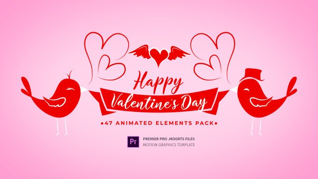 Valentine Day Toolkit: Motion Graphics Templates