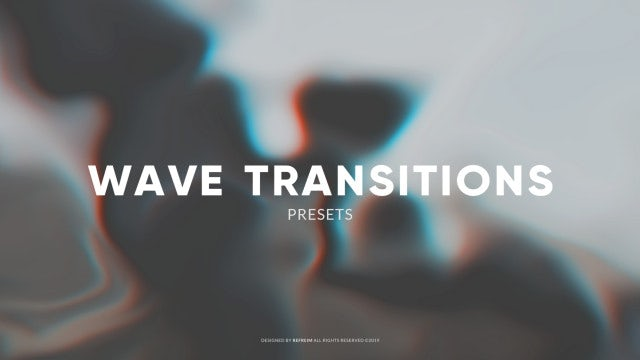 Wave Transitions: Premiere Pro Presets