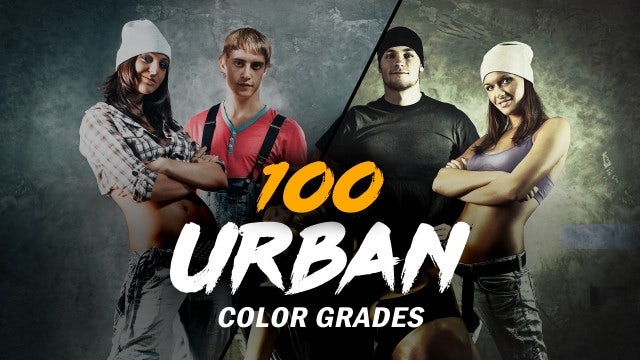 Urban Color Grades: After Effects Presets