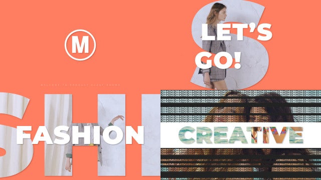 Clean Fashion Promo: After Effects Templates