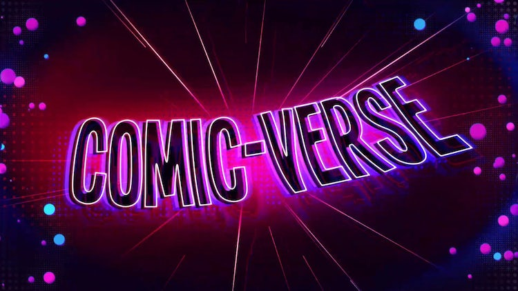 ComicVerse Title Reveal: After Effects Templates