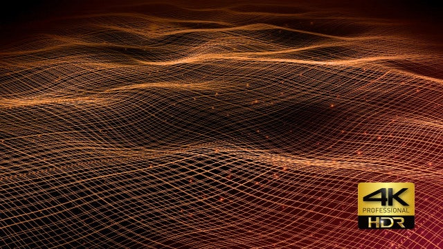 Beautiful Cross-hatched Wave Background: Stock Motion Graphics