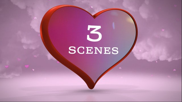 Rotating Heart 3D: After Effects Templates