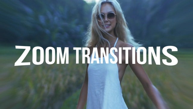 Zoom Transitions - After Effects Presets | Motion Array