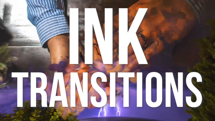Ink Transitions: Premiere Pro Templates