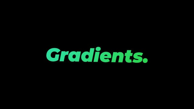 Gradients: Premiere Pro Presets