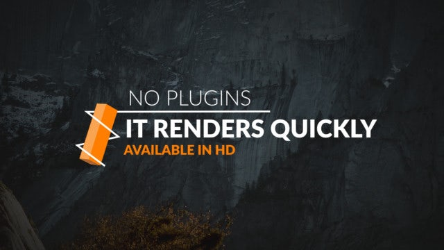 New Modern Titles: After Effects Templates