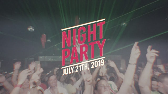 Night Party Slideshow: After Effects Templates