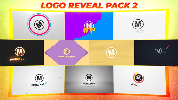 Logo Reveal Pack 2: After Effects Templates