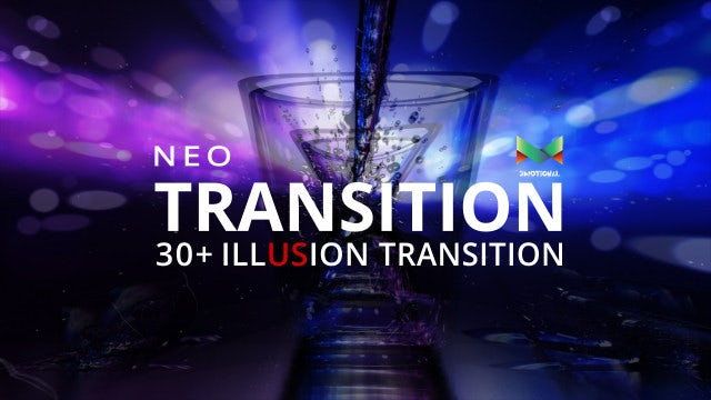 Neo Illusion Transition Pack: After Effects Templates