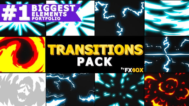 Dynamic Handy Transitions: After Effects Templates