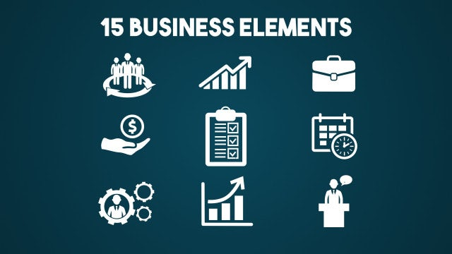 15 Business Elements: After Effects Templates