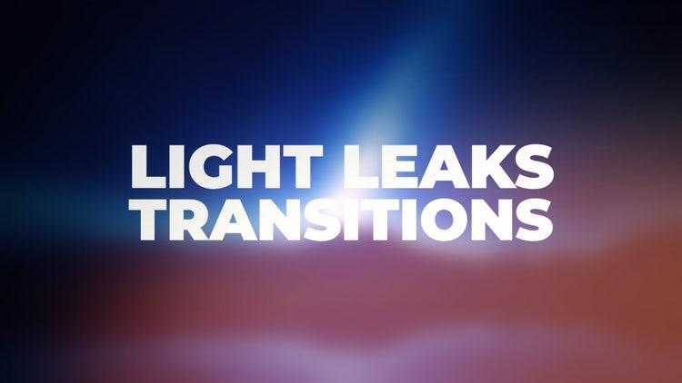 Light Leaks Transitions: Premiere Pro Presets